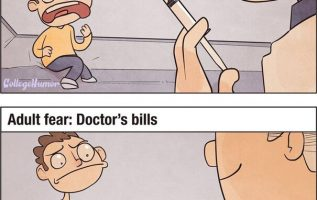Fear of doctors and bills