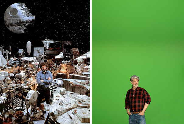 George Lucas Then And Now.