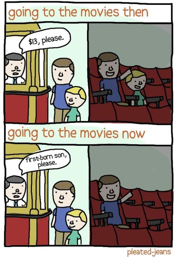 Going to Movies.