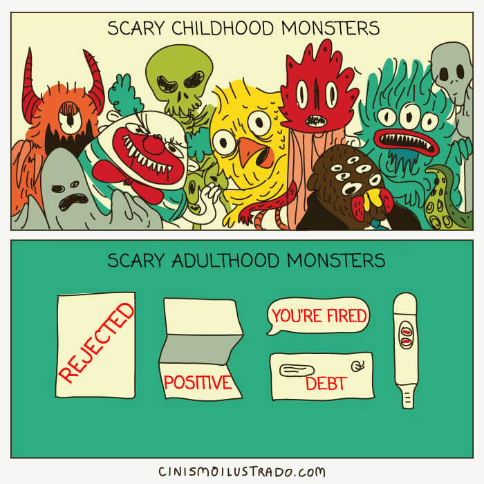 monsters in our life