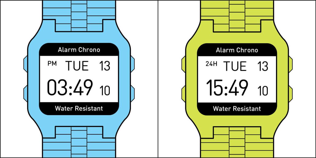 Two Kinds Of People In The World Time format