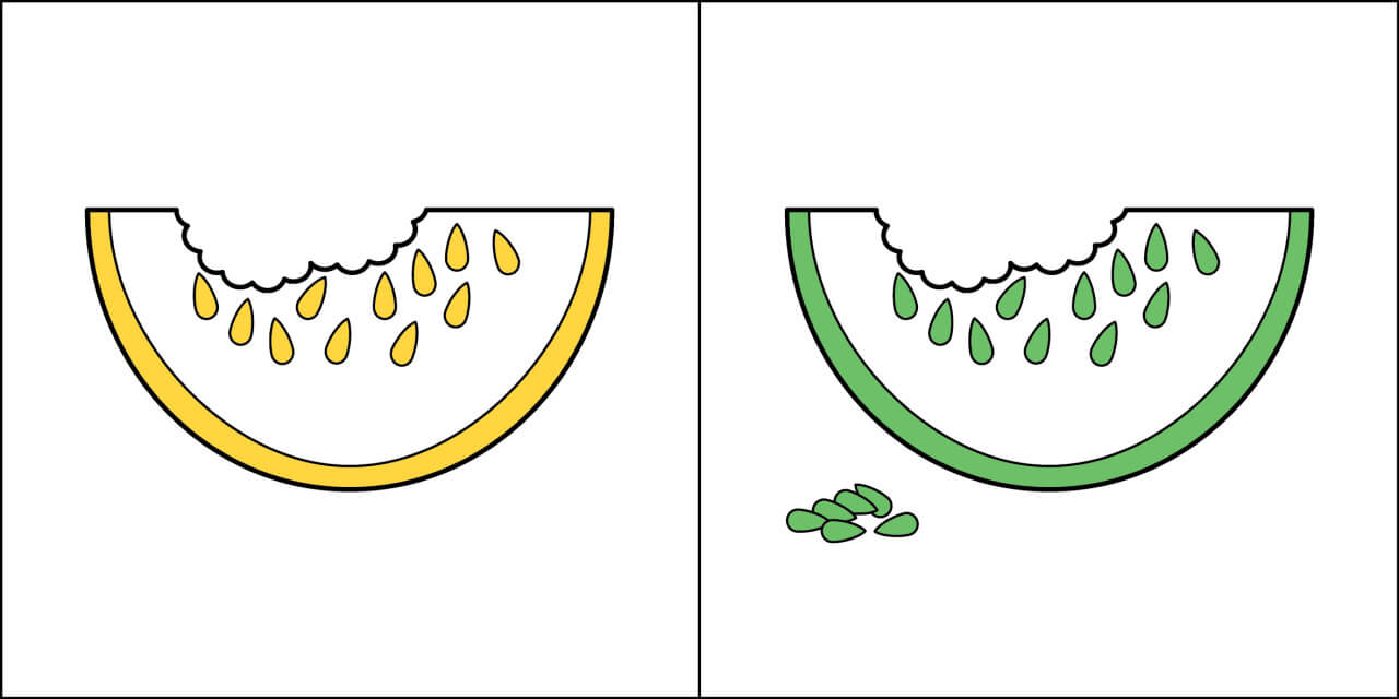 Two Kinds Of People In The World Watermelon