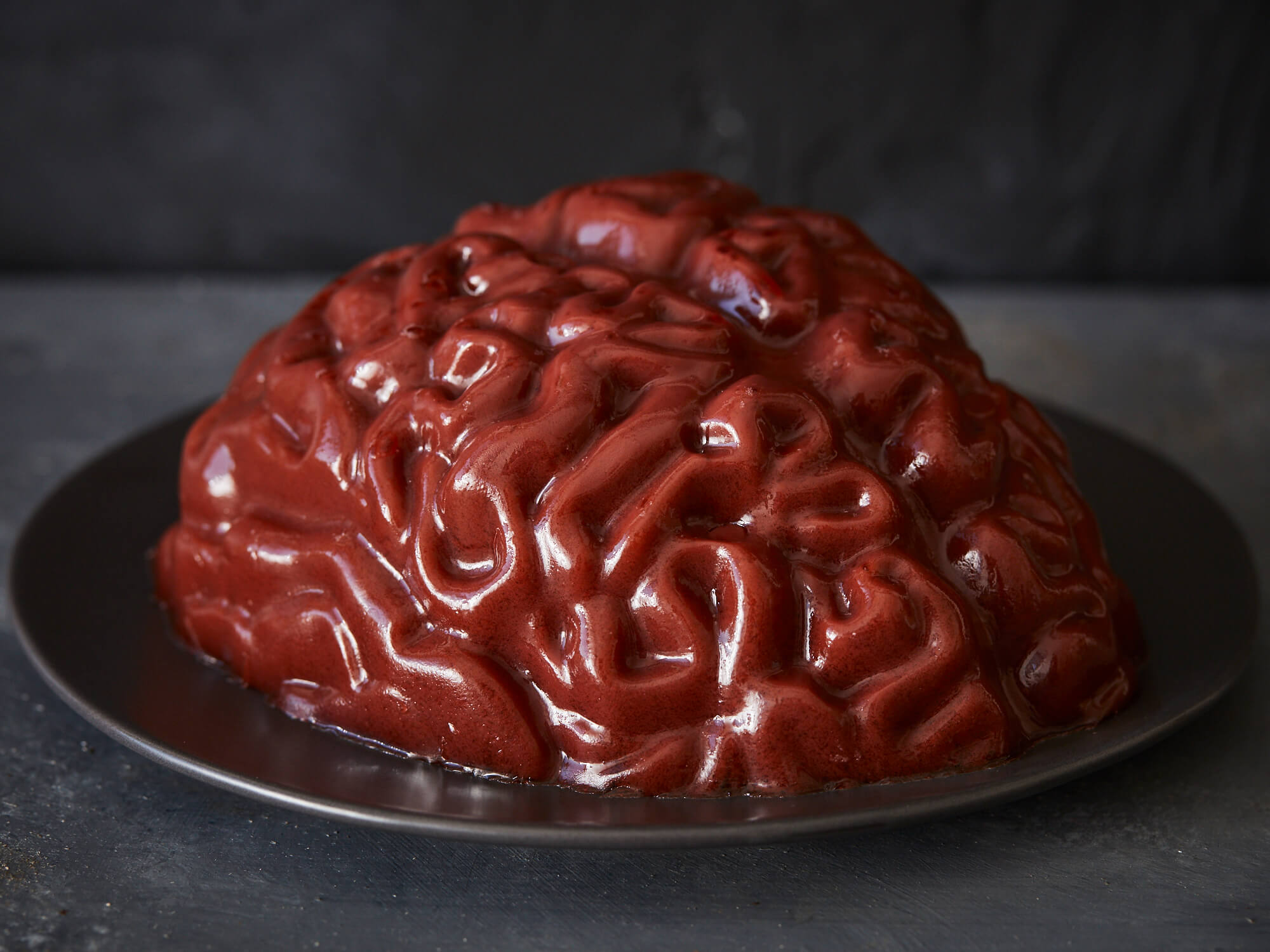 Brain Gelatin Halloween food ideas