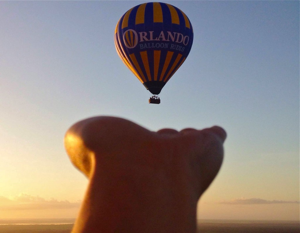 Balloon Ride thing to do in Orlando