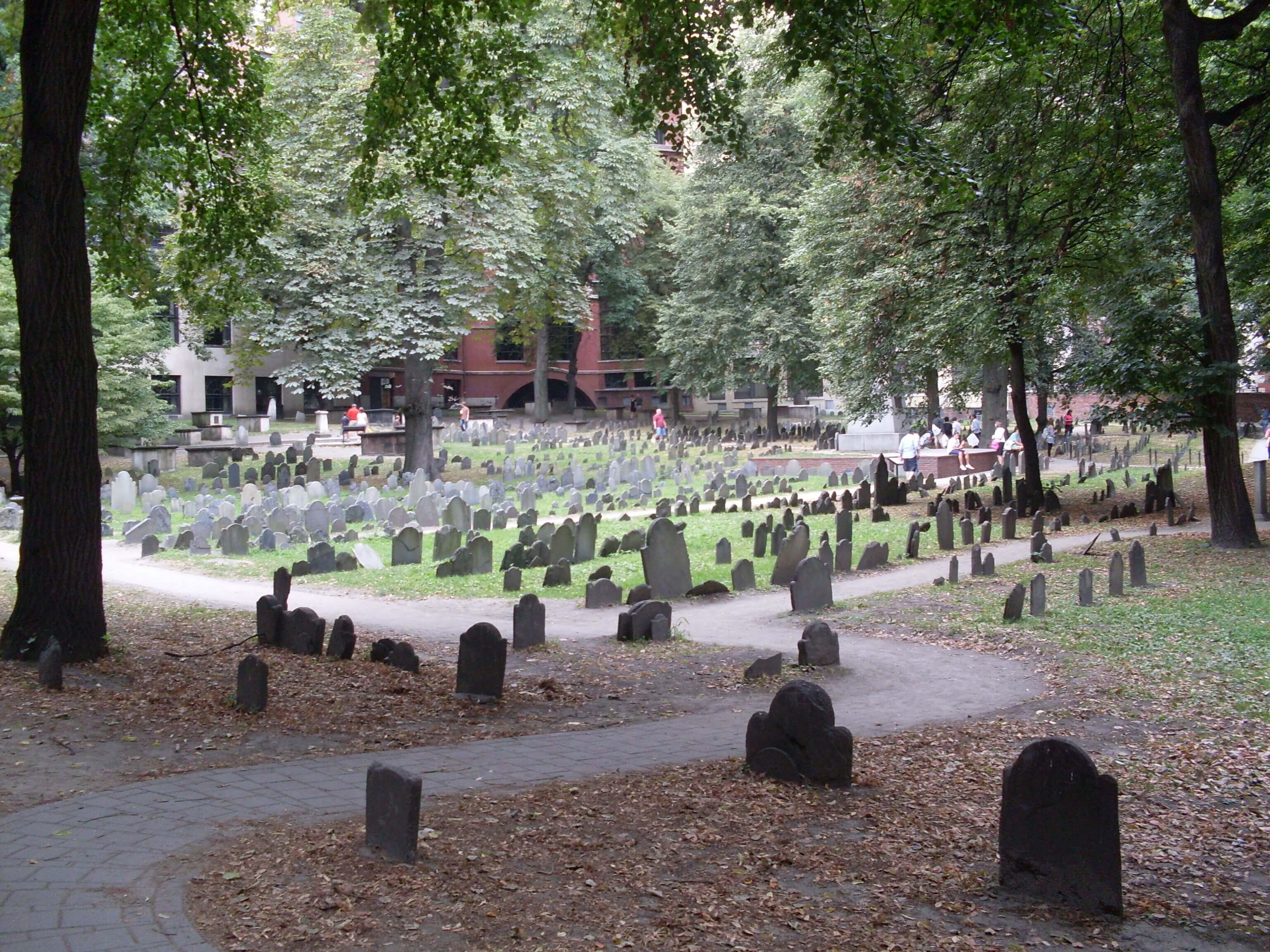 Boston's Old Burying Ground Things to do in Boston