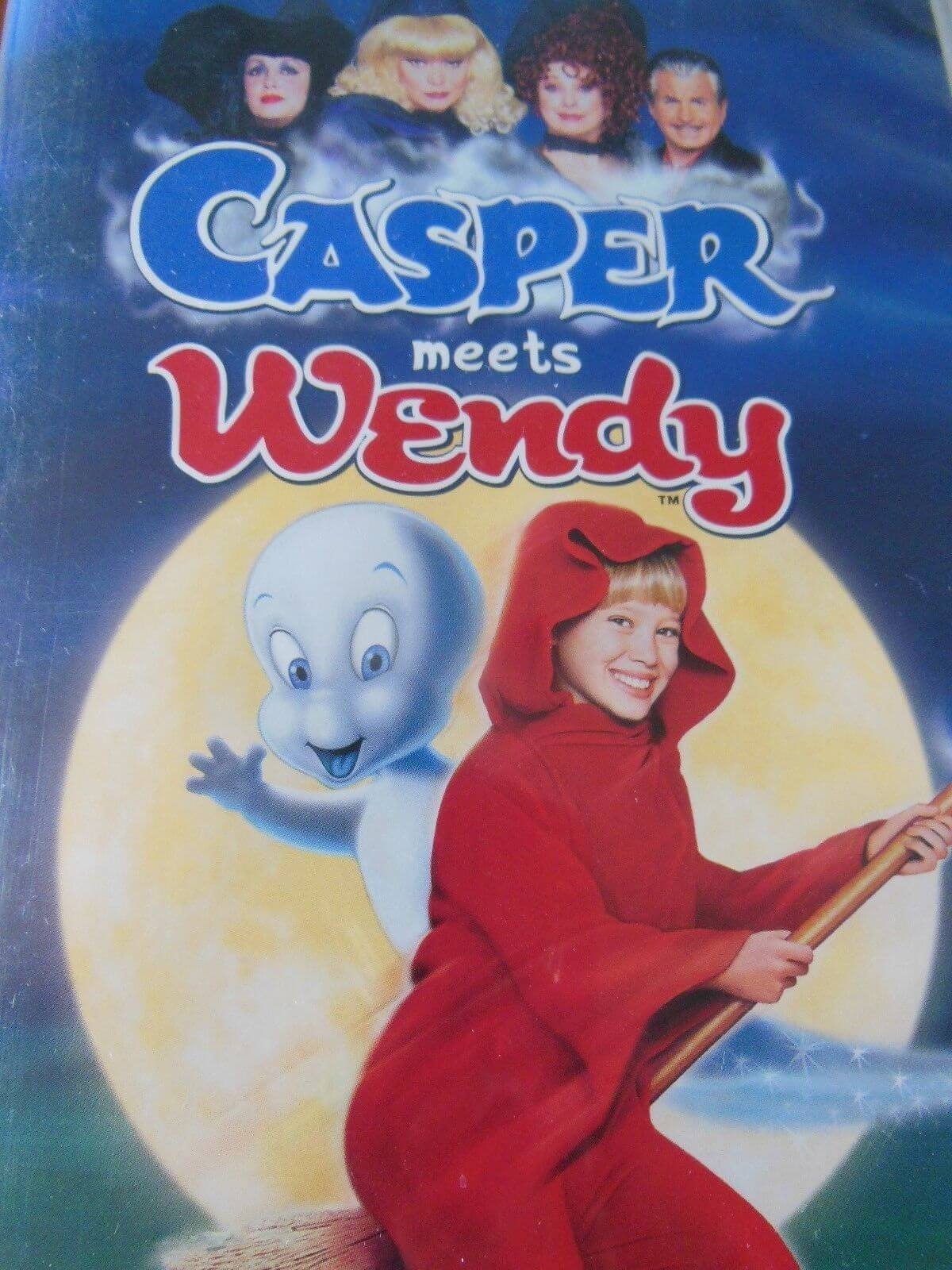 CASPER MEETS WENDY halloween movie