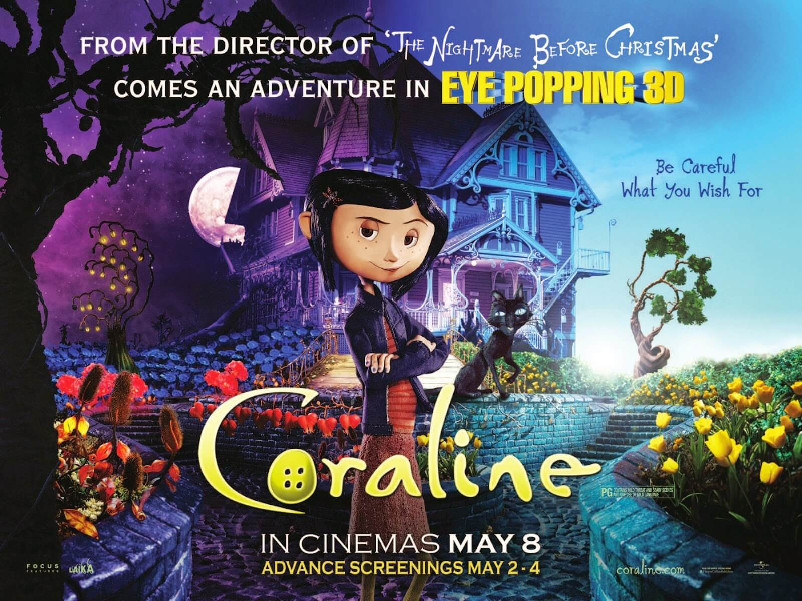 CORALINE halloween movie