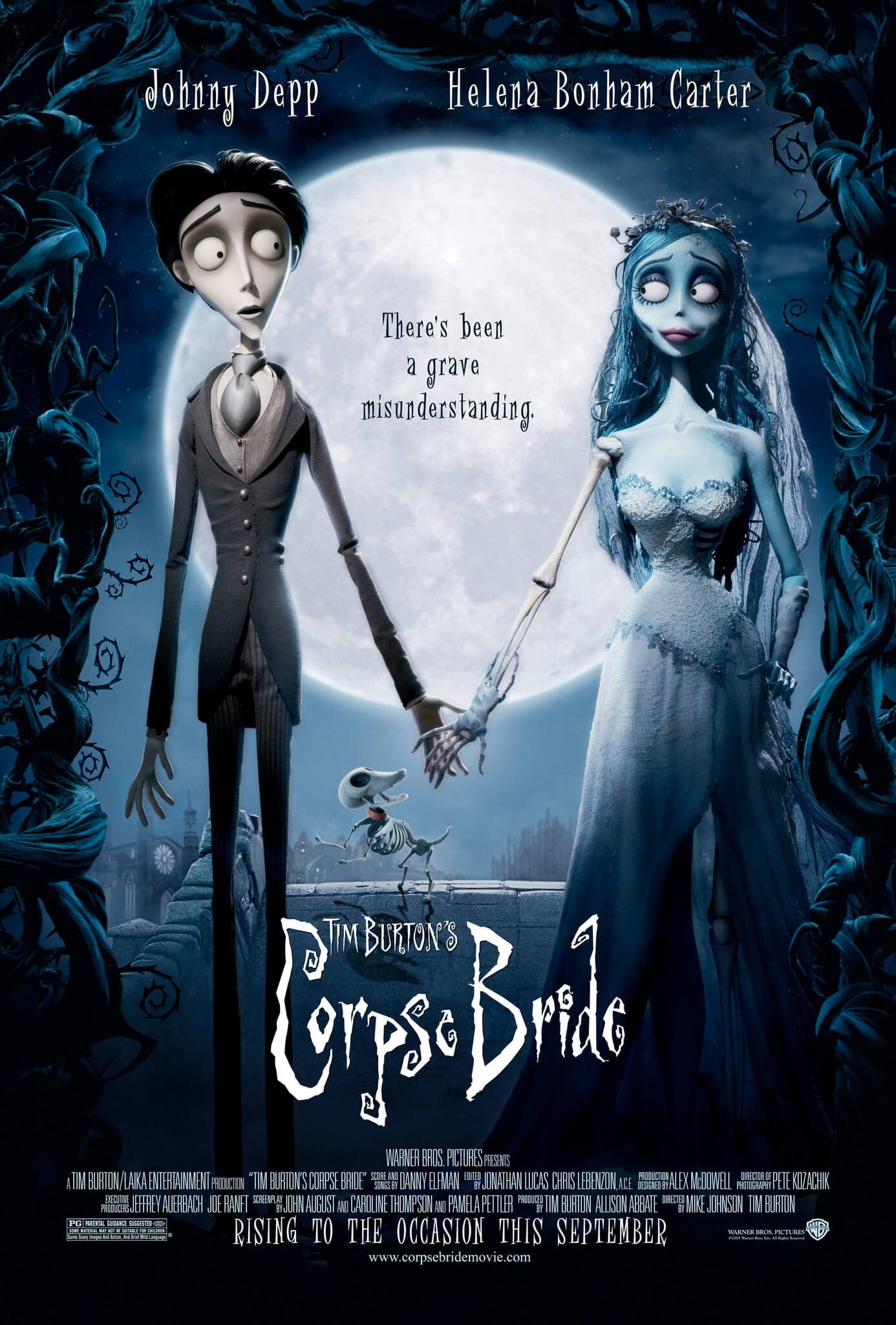 CORPSE BRIDE halloween movie