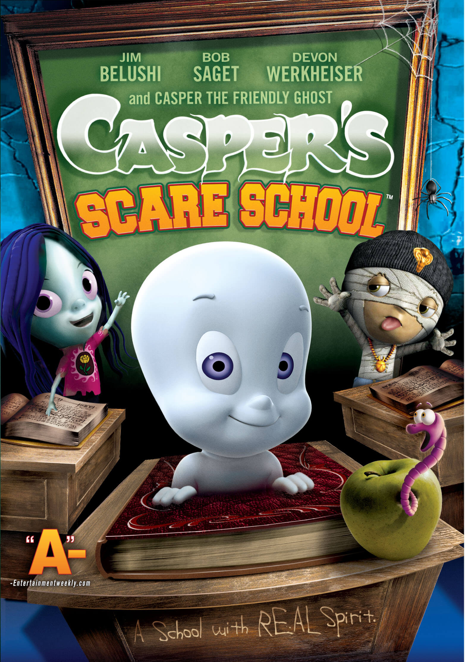 Casper Scare School halloween movie