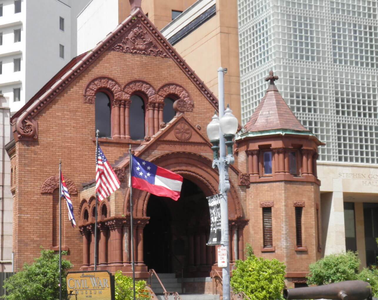 Confederate Memorial Hall Museum Things to do in New Orleans