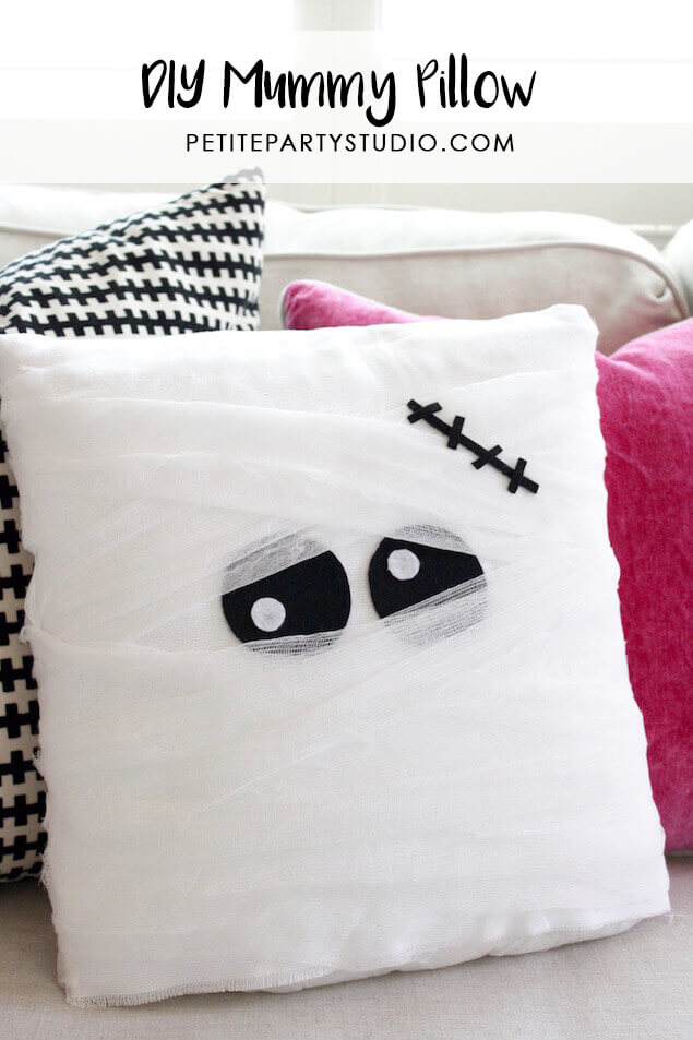 Diy mummy pillow.