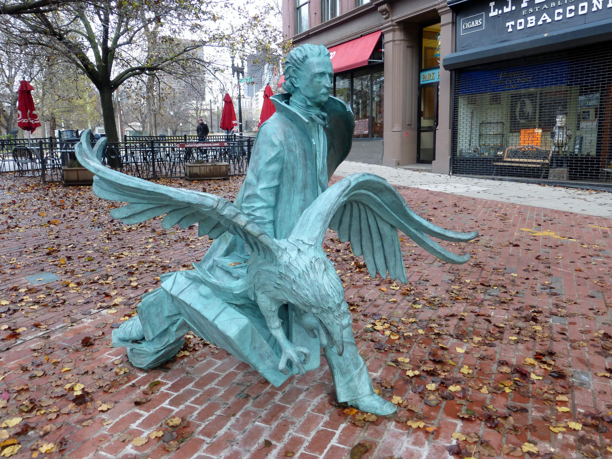 Edgar Allan Poe Square Things to do in Boston