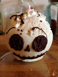 Edible Skull Bowls for halloween food ideas