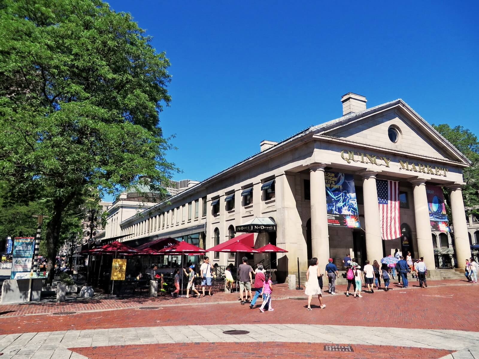 Faneuil quincy marketplace Things to do in Boston