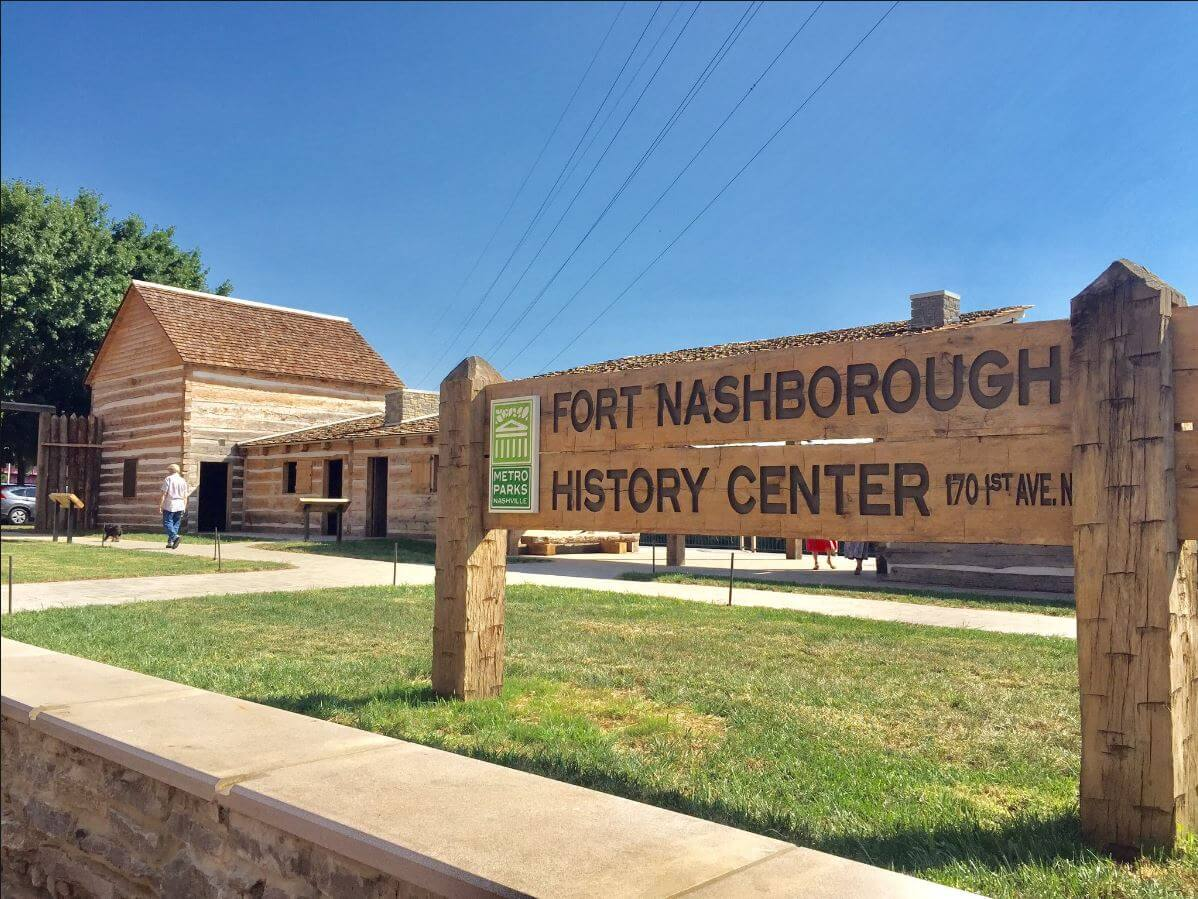 Fort Nashborough Things to do in Nashville