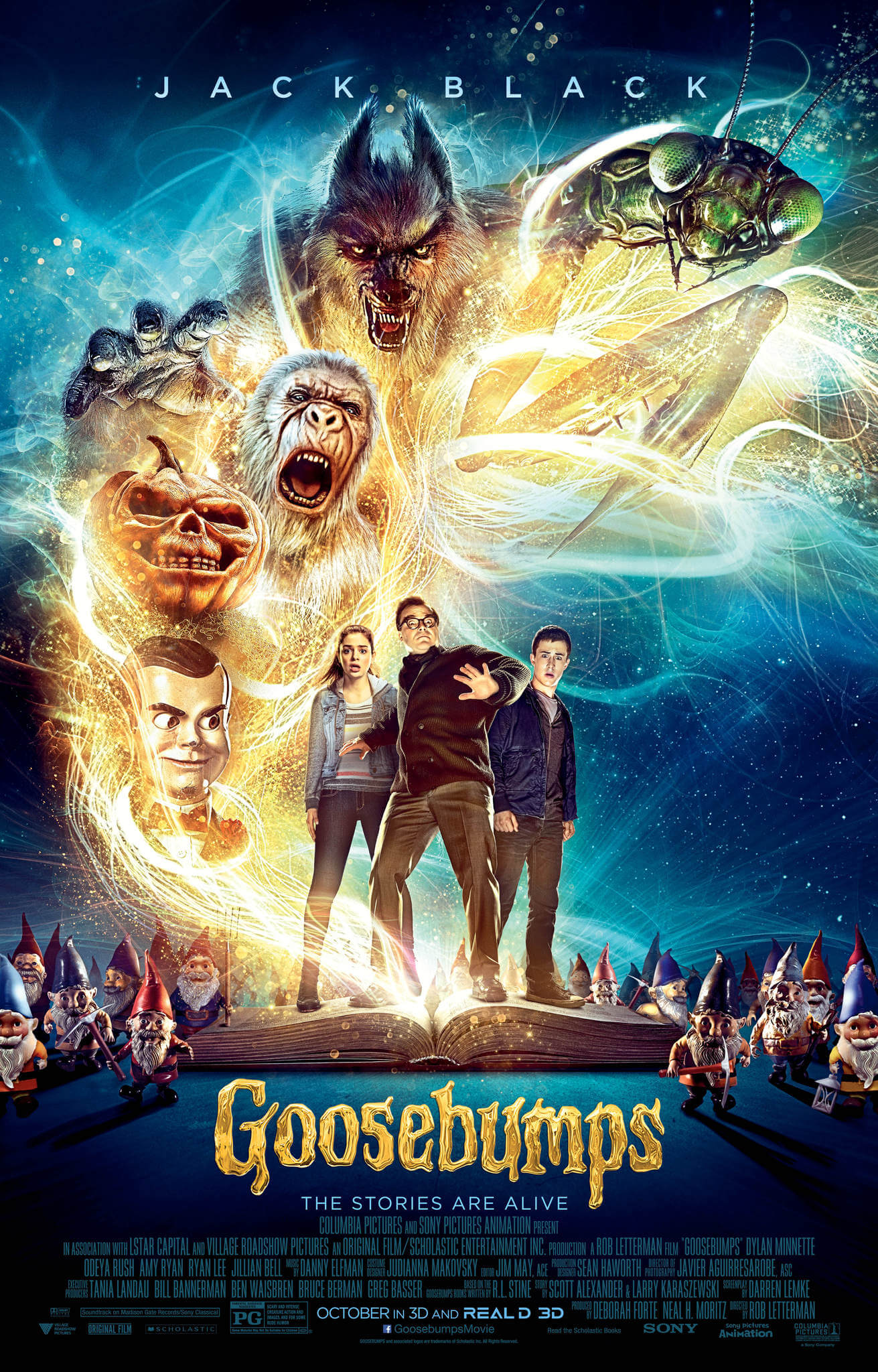 GOOSEBUMPS halloween movie