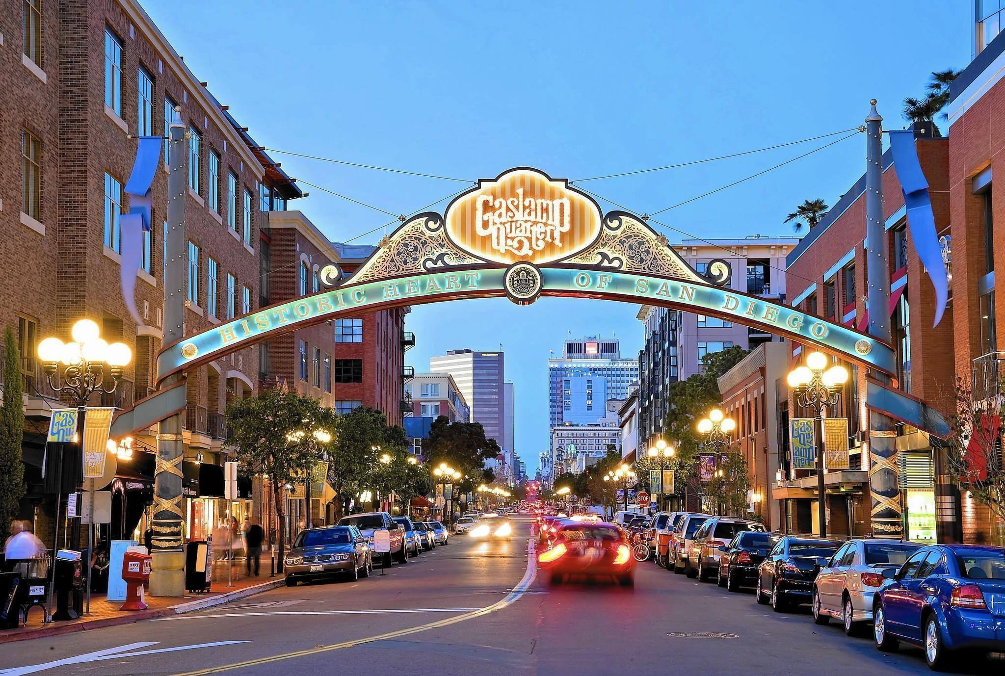 Gaslamp Quarter Things to do in San Diego