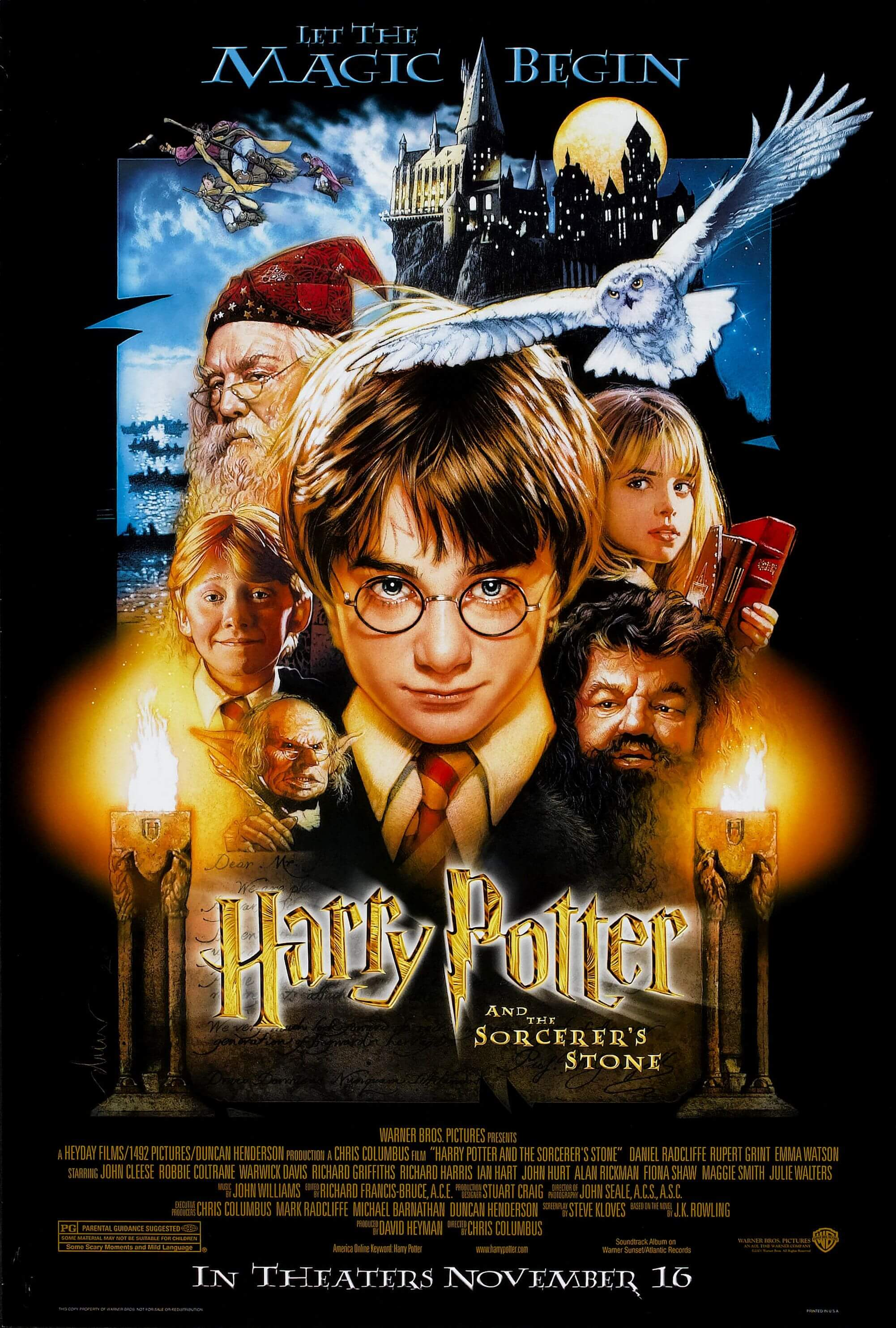 HARRY POTTER AND THE SORCERER'S STONE halloween movie