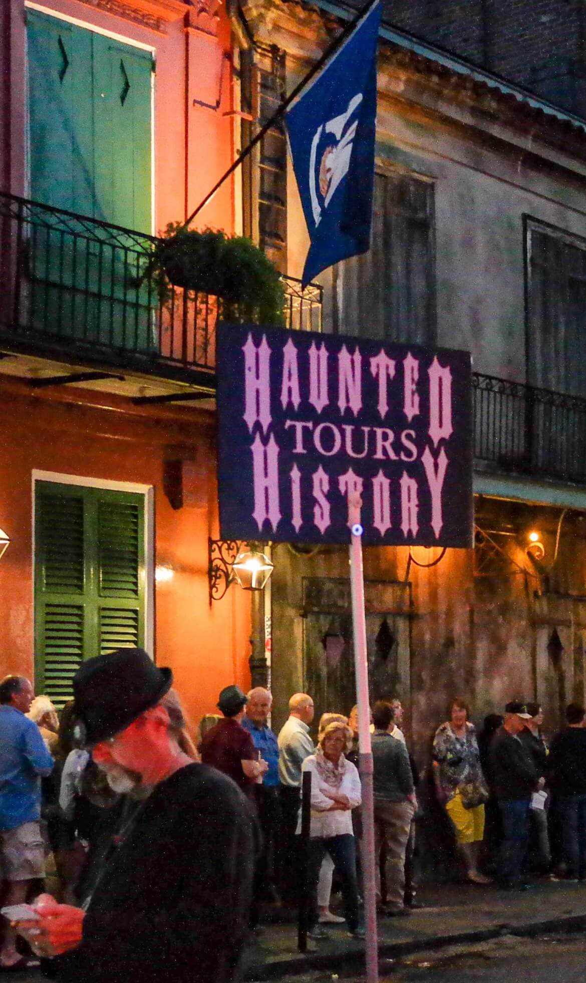 Haunted History Tours Things to do in New Orleans