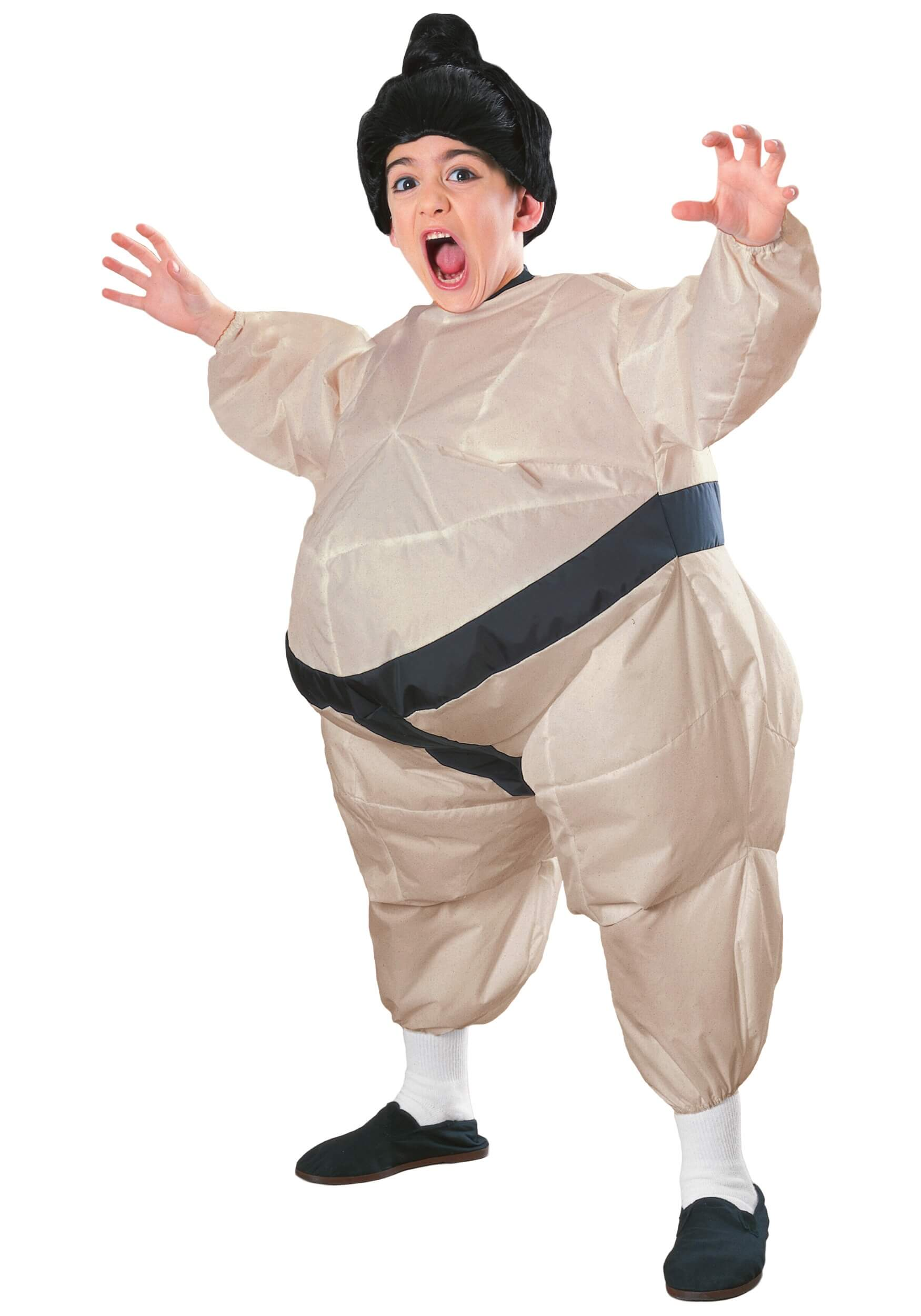 Inflatable sumo costume for halloween for Kids
