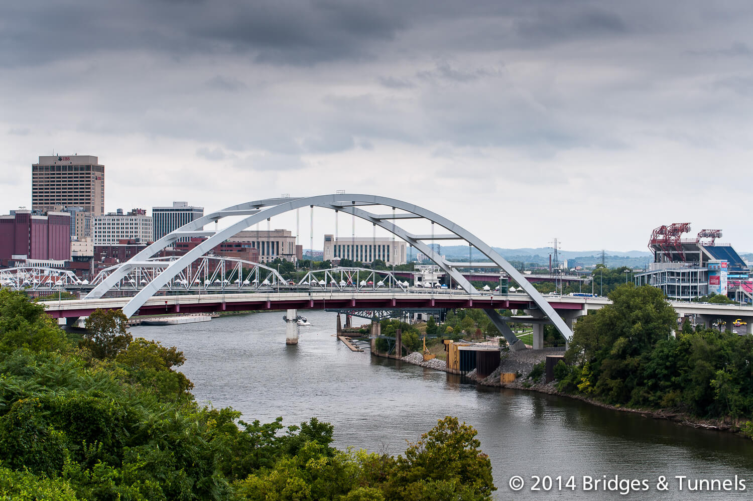 John Seigenthaler Pedestrian Bridge Things to do in Nashville