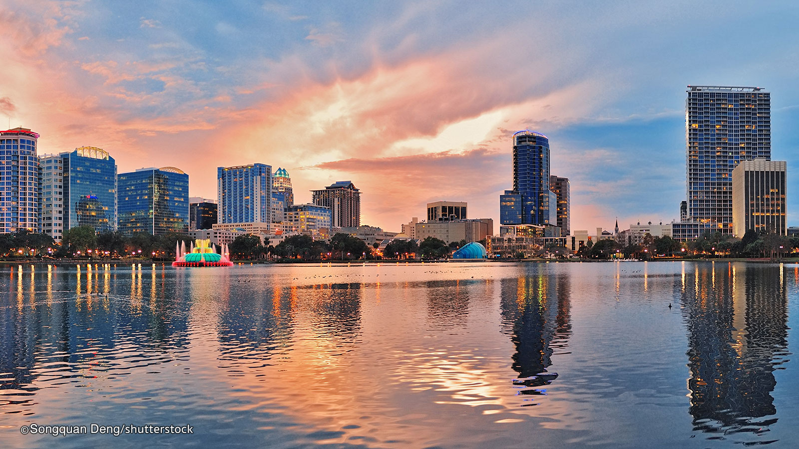 Lake Eola Park thing to do in Orlando
