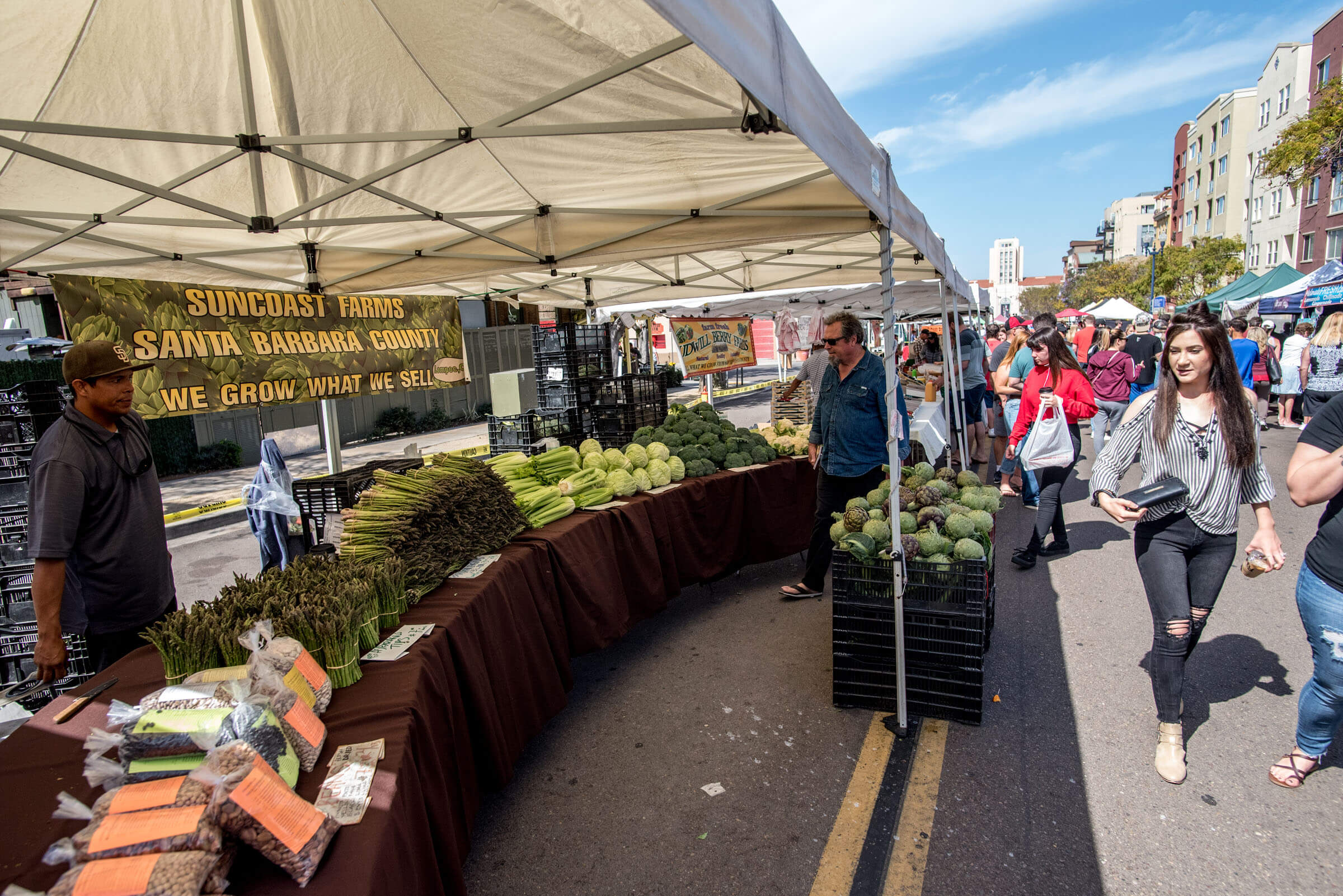 Little Italy Mercato Farmers Market Things to do in San Diego