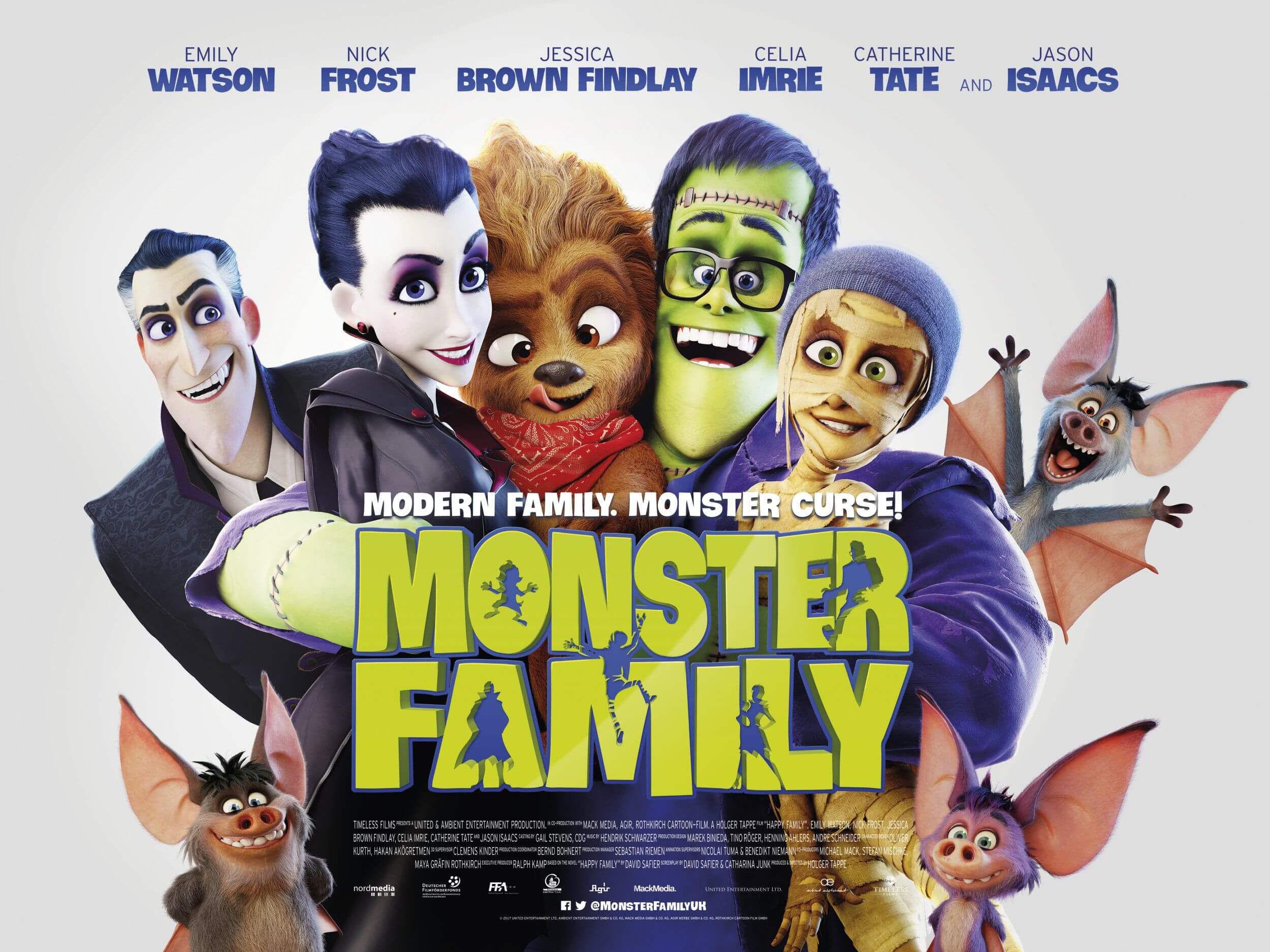 MONSTER FAMILY halloween movie