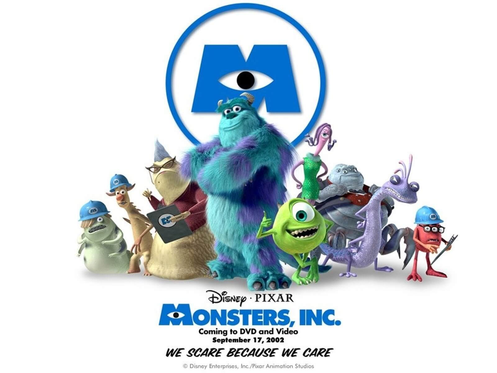 MONSTER INC halloween movie