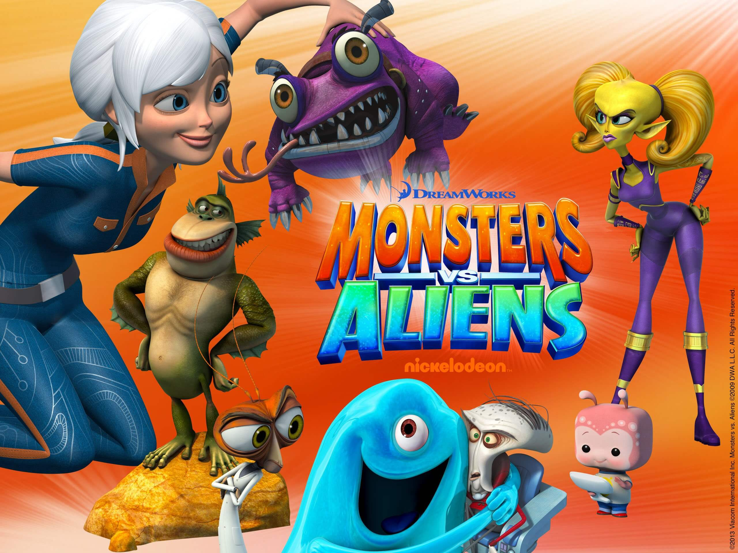 MONSTERS VS ALIENS halloween movie