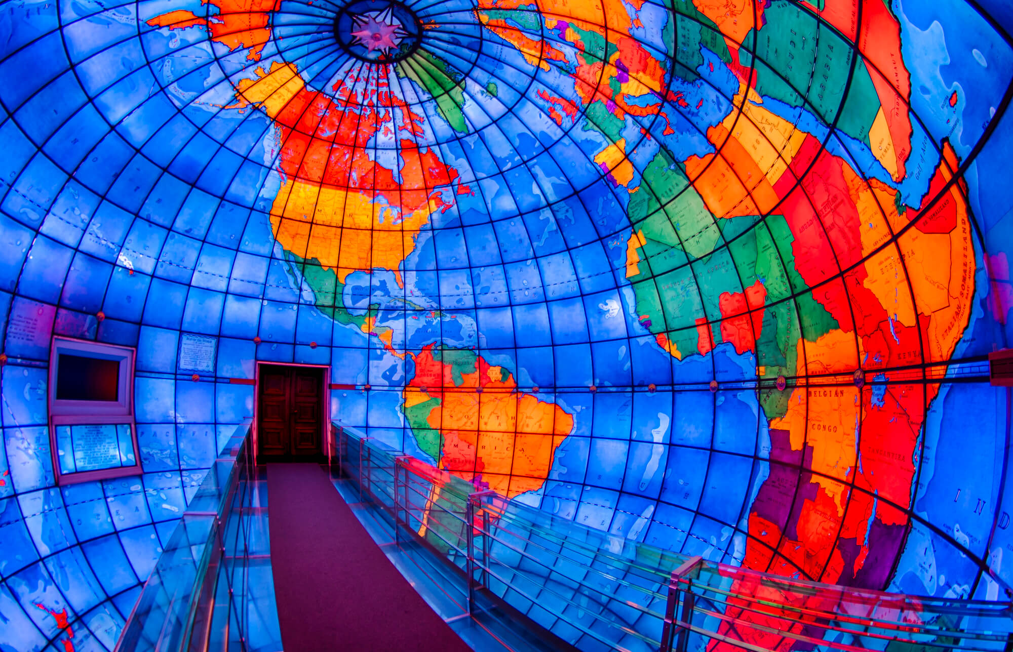 Mapparium Things to do in Boston