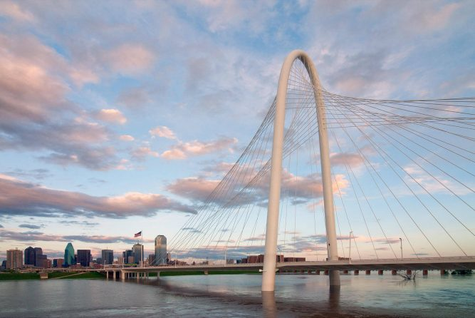 Margaret Hunt Hill Bridge Things to do in Dallas