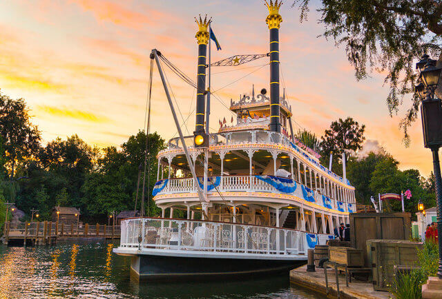 Mark Twain Riverboat Things to do in disneyland