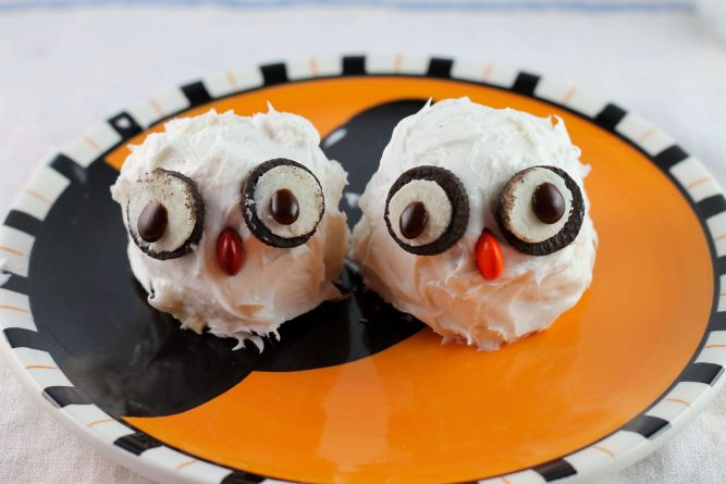 Owl Cupcakes halloween food ideas