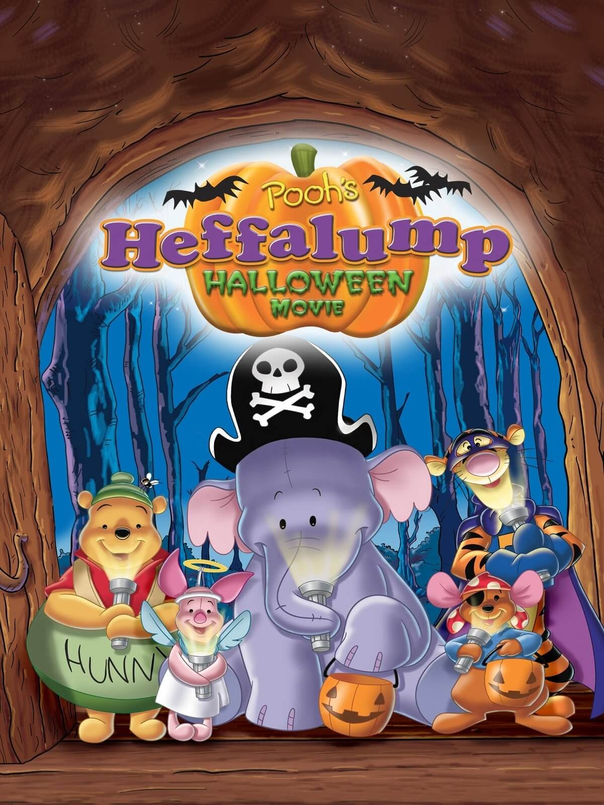 POOH'S HEFFALUMP HALLOWEEN MOVIE halloween movie