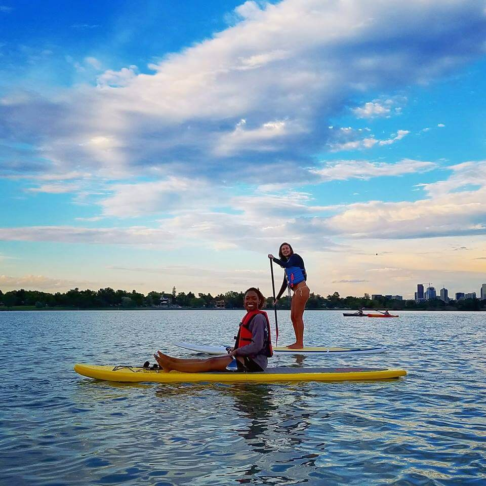 Paddleboard at Denver's Slogan Lake Things to do in Denver
