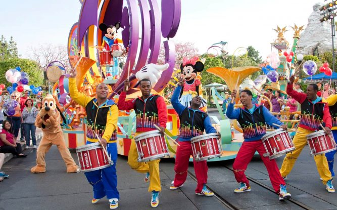 Parades Things to do in disneyland