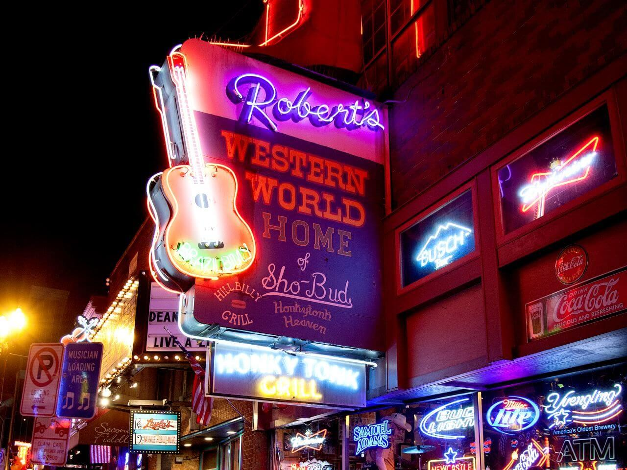 Robert's Western World Things to do in Nashville