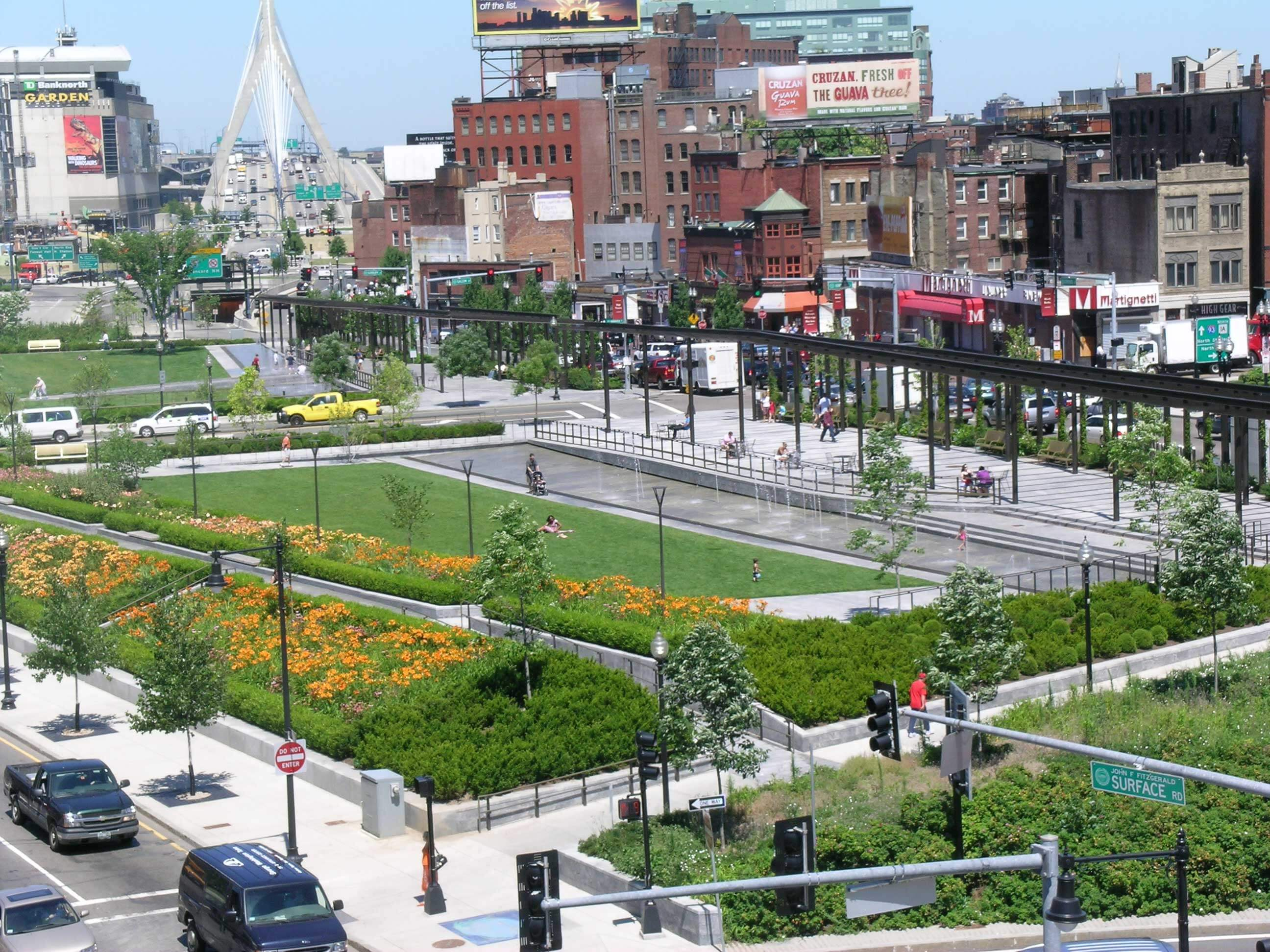 Rose Fitzgerald Kennedy Greenway Things to do in Boston