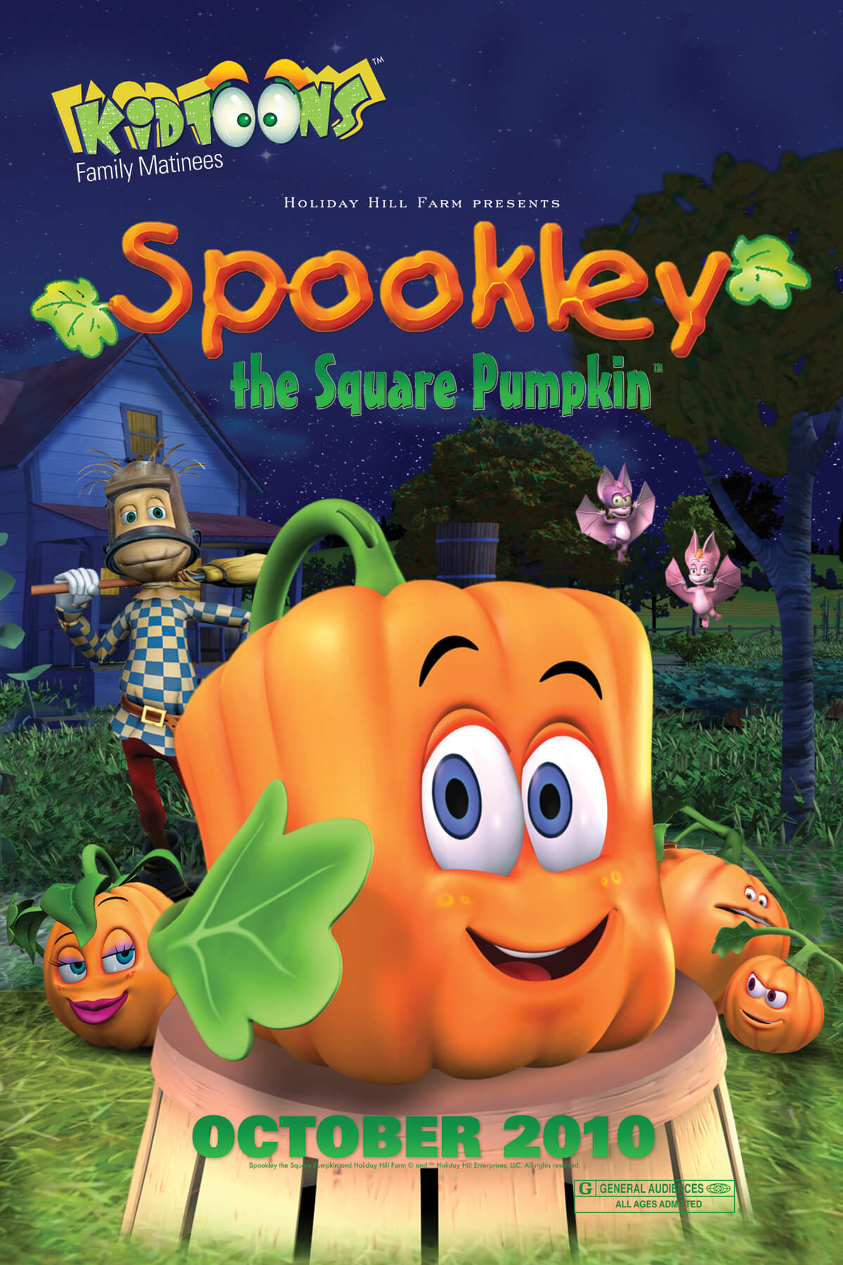 SPOOKLEY THE SQUARE PUMPKIN halloween movie