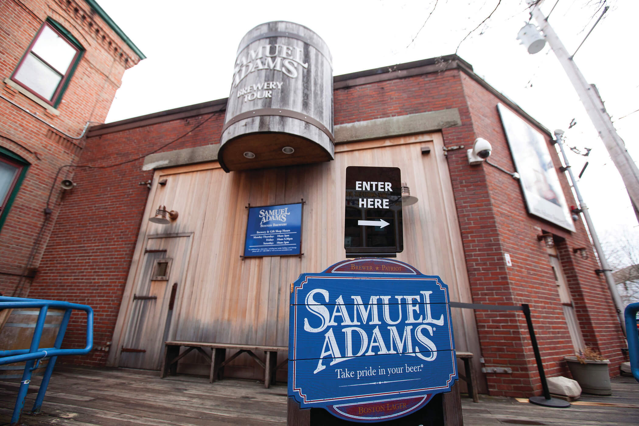 Samuel Admas Brewery Things to do in Boston