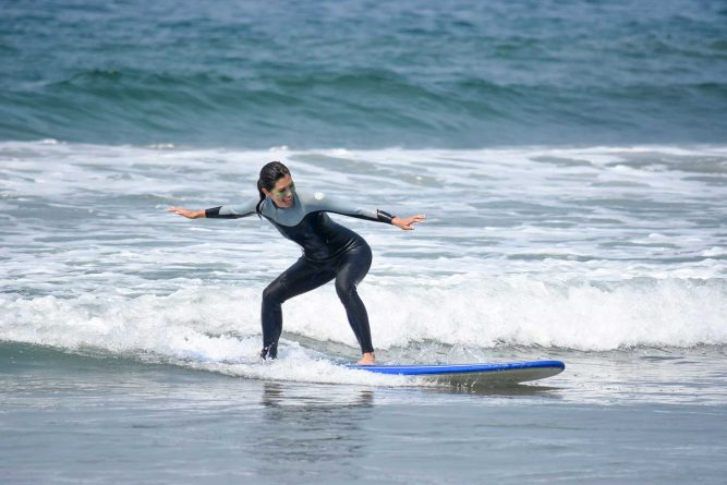 Surfing things to do in LA