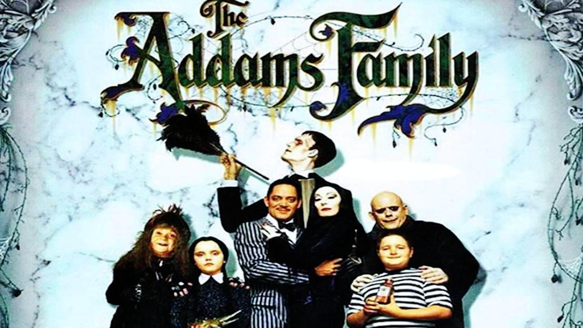 THE ADAMS FAMILY halloween movie