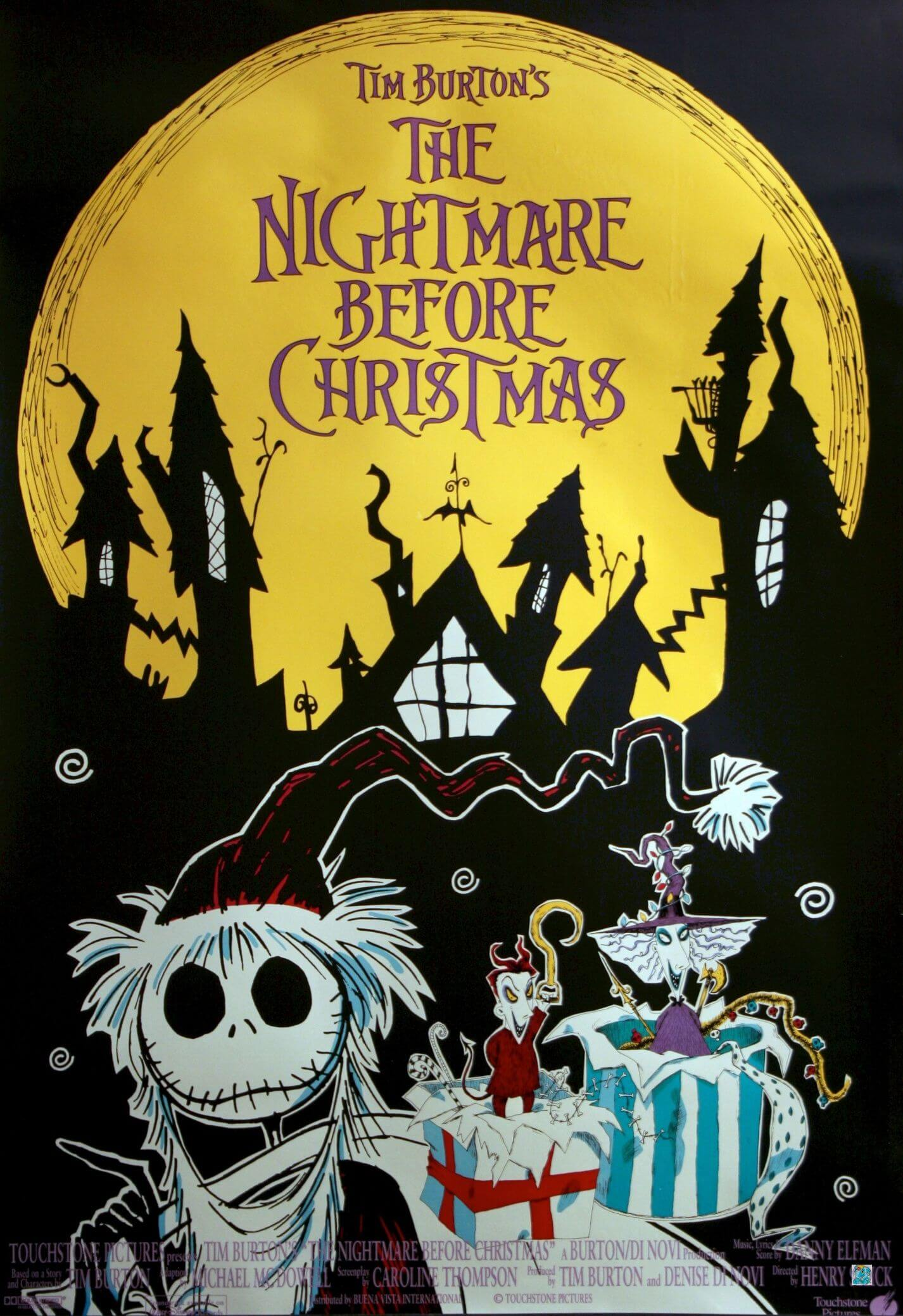 THE NIGHTMARE BEFORE CHRISTMAS halloween movie