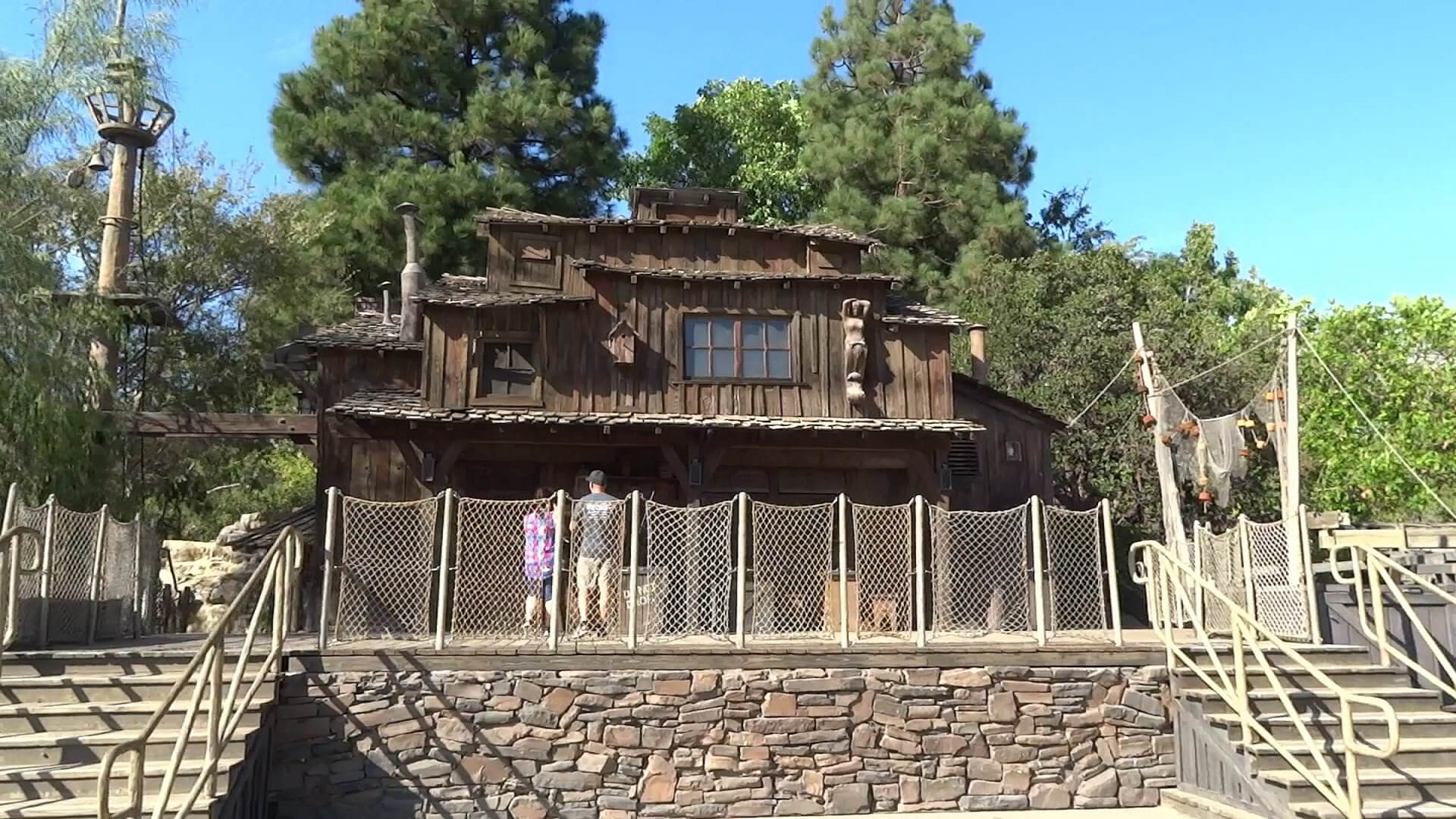 The Pirate's Lair on Tom Sawyer Island