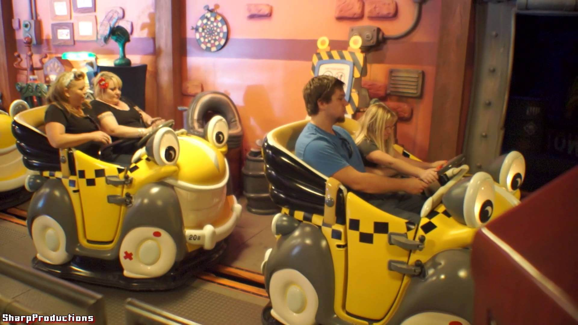 The Roger Rabbit's Car Toon Spin Things to do in disneyland