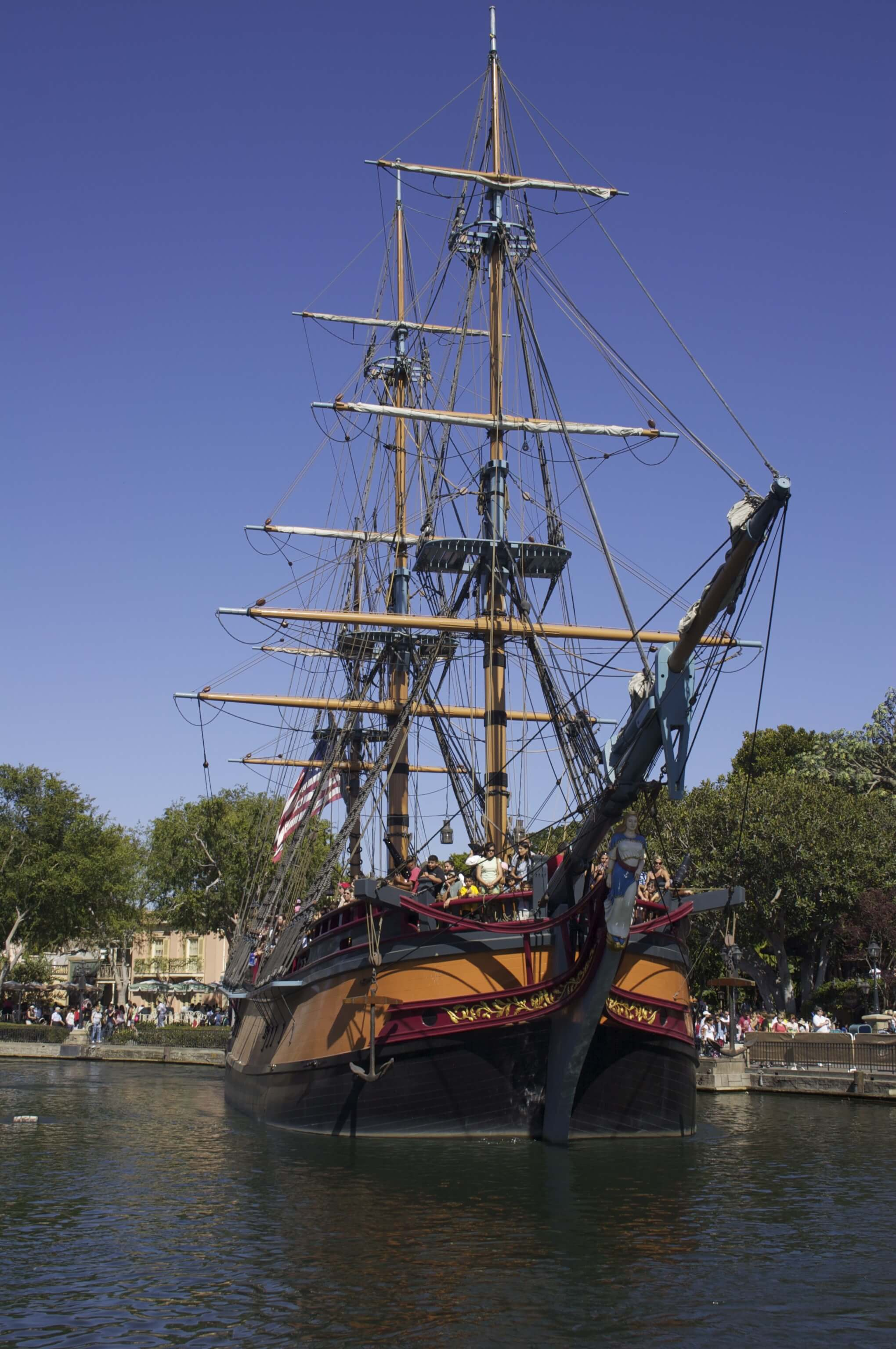 The Sailing Ship Columbia Things to do in disneyland