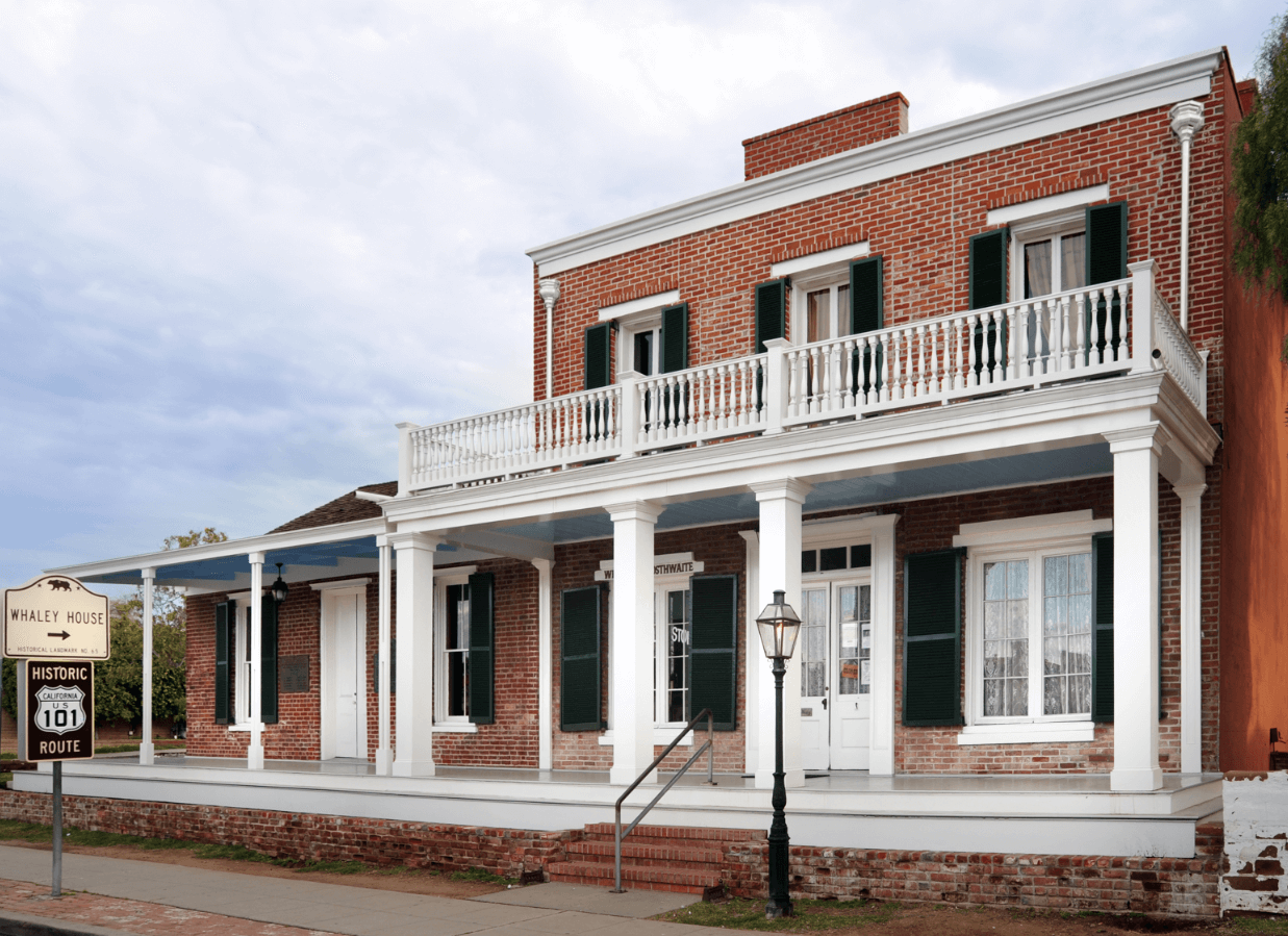 Whaley House Museum Things to do in San Diego