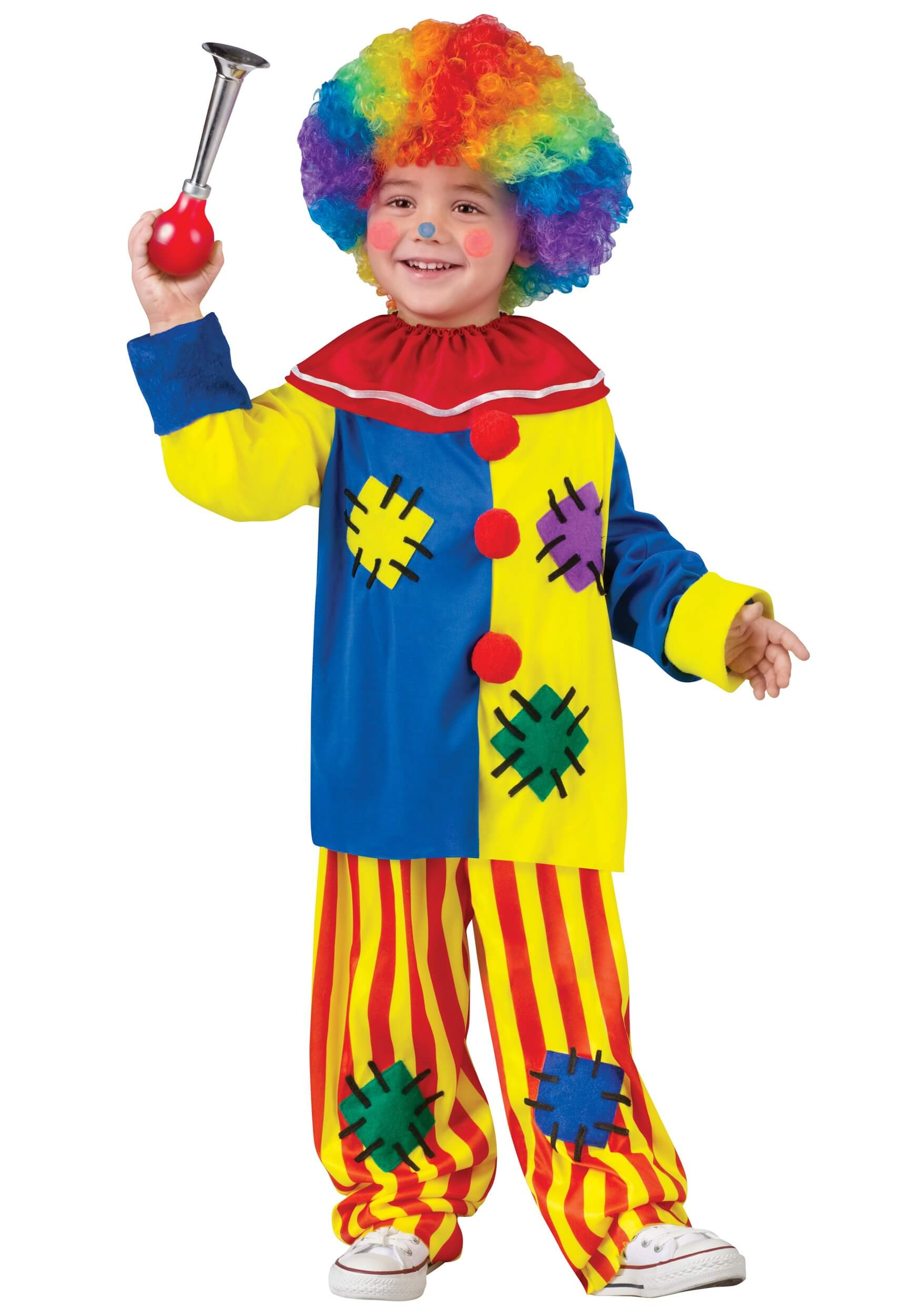 big top toddler clown costume for halloween