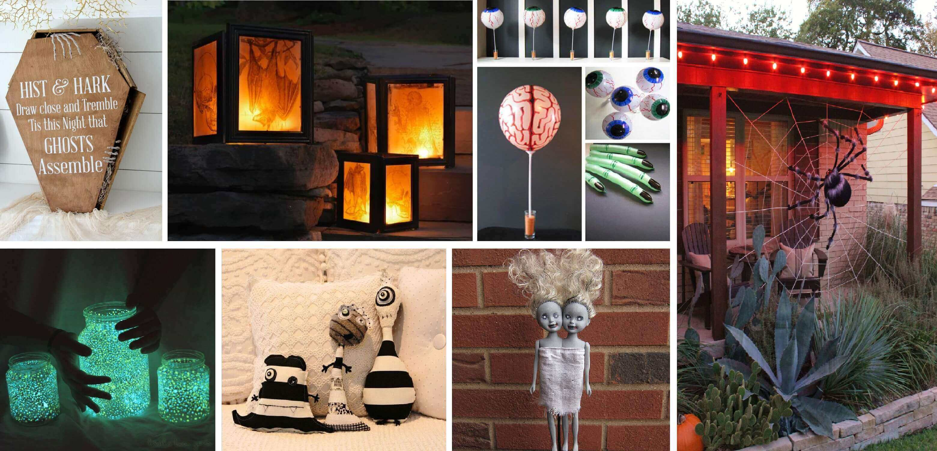 90 diy halloween decorations & ideas with tutorials